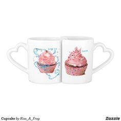Shop Cupcake Coffee Mug Set created by Kiss_A_Frog. Coffee Mug Sets, Mugs Set, Pear Recipes, Whole Eggs, Cool Mugs, Apple Cake, Special Person, Cake Pans, Quick Easy Meals