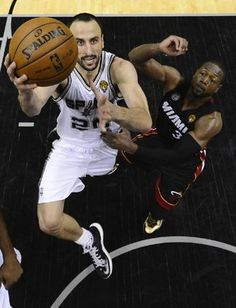 Manu Ginobili had a vintage performance to lead the Spurs past the Heat in Game 5 of the 2013 NBA Finals