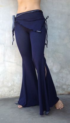 Organic Belly Dance Practice Clothing - $90.00 (pants) - Melodia Desgins