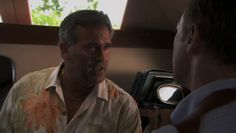 """Burn Notice 4x16 """"Dead or Alive"""" - Sam Axe (Bruce Campbell)"""