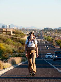 "Laura Milkins (US), ""Walking Home"", Tucson-Michigan, US, 2011."