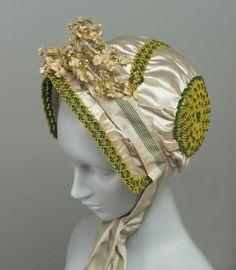 Bonnet  1805-1810  The Museum of Fine Arts, Boston
