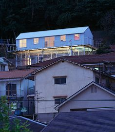 tato architects/yo shimada: house in rokko