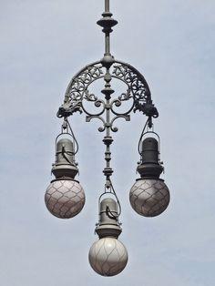 Barcelona Streetlight street lamp