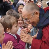 His Holiness the 14th Dalai Lama is an incredible inspiration. His compassion, his kindness, his wisdom, his sense of humor, and his devotion to social justice are a continual inspiration to everyone, whether or not they are Buddhist practitioners.