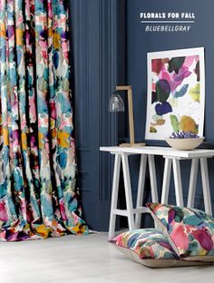 Decorating With Florals For Fall