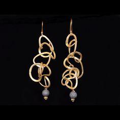 one of a kind earrings from Parijata Designs www.parijatarocks.com