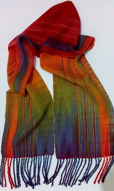 Faux Ikat Scarf - th