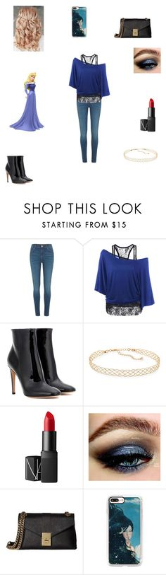 """""""Modern Aurora"""" by caple-j ❤ liked on Polyvore featuring River Island, Gianvito Rossi, Panacea, NARS Cosmetics, Calvin Klein, Casetify and modern"""