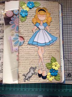 Prima Doll as Alice in Wonderland.