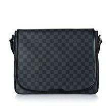 Louis Vuitton Damier Canvas Messenger Bag - Black N51213  $149.00