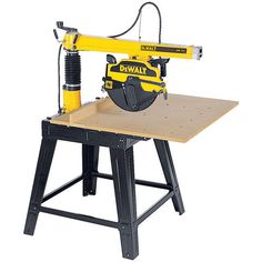 DeWalt DW721 Radial Arm Saw (230V) - Machine Mart - Machine Mart