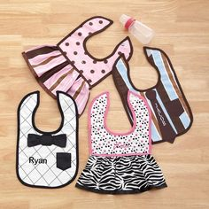 Best Dressed Baby Bib from Personal Creations on Catalog Spree