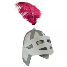 Casco caballero en goma eva Knight Party, Knights Helmet, Clash Royale, Dress Up Day, Cardboard Crafts, Full Face, Diy Costumes, Fancy Dress, Feather