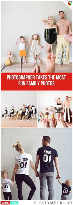 Photographer Takes The Most Fun Family Photos #photos #photographer #photography #amazing #fun #photoshoot #funphotoshoot #bemethis