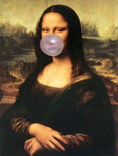 Mona Lisa by Leonardo da Vinci Lisa Gherardini, Monalisa Wallpaper, Mona Lisa Parody, Mona Lisa Smile, Tumblr Wallpaper, Italian Artist, Funny Art, Fun Funny, Aesthetic Art