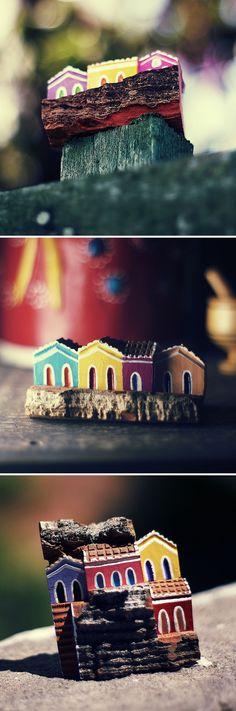 Casinhas de Cajá. Artesanato.   #Olinda #Pernambuco #Brasil