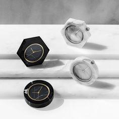 Vem ver os relógios de mármore da Analogic Watch Co. - clica!