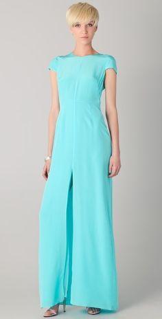Shopbop exclusive: Jenni Kayne Cap Sleeve Silk Gown