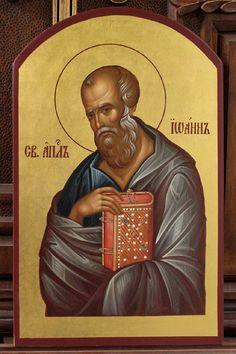 Photo: CN 018 - St.Apostle John The Theologian Orthodox Icons, St John The Evangelist, Art, Johannes, St John