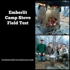 Emberlit Camp Stove