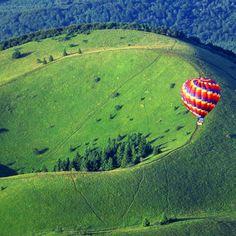 Vol montgolfiere Volcans dAuvergne Puy de Dôme 63 - Sport Découverte - www.sport-decouverte.com