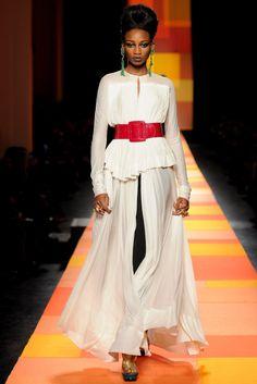 Jean Paul Gaultier Spring 2013 Couture Fashion Show - Shena Moulton