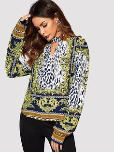 42fa8bbaf25d 599 Best Tops I like images in 2019   Blouses, Decorations, Dresses