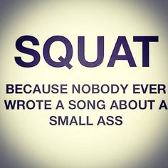 Squats are a girl's best friend!  Funny workout and fitness memes for women and girls who love crossfit, lifting, and the gym