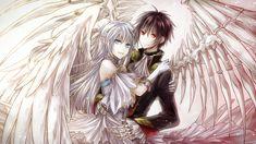 Anime Angel Boy And Demon Girl Love Im a girl an a demon angel