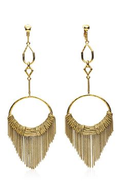 Aurelie Bidermann Zia earrings.