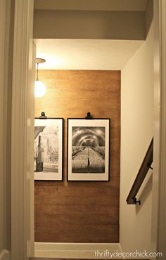 Go to @ThriftyDecorChick to learn how to create this beautiful wood accent wall!
