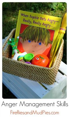 Anger Management Skills for Kids - Fireflies and Mud Pies
