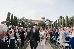 You're going to love Karen & Nima's beautiful destination wedding in Barcelona, with multi-cultural details and gorgeous decor by Marry Me In Spain.