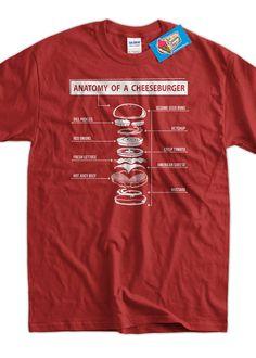 Funny Burger T-Shirt