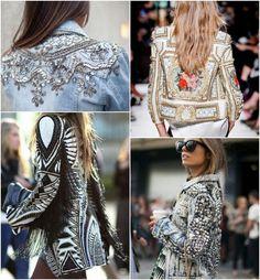 Chaquetas Jeans Tunear Mejores Embroidered Denim Imágenes De 65 qHI6wvI