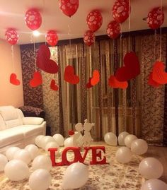 Romantic Room Decoration in Hyderabad. romantic decoration ideas from Quotemykaam catalogue. Customized packages for romantic surprises. Birthday Surprise Boyfriend, Anniversary Surprise, Valentines Gifts For Boyfriend, Valentines Diy, Anniversary Gifts, Romantic Anniversary, Wedding Anniversary, Birthday Room Decorations, Anniversary Decorations