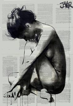 "Saatchi Art Artist Loui Jover; Drawing, ""flying inside"" #art"