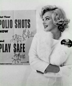 Marilyn M...  Polio, was such a devastating Fisrase Blu ü8888ì77