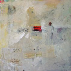 Still traveling Spain with ARTE FE 24 x 24 mixed media on canvas