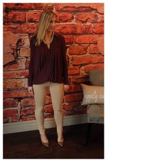 """Beige knit jeggings 95% cotton 5% spandex.  Modeling size M.  31"""" inseam.  Measurements laying flat un stretched: waist S 12"""" M 13"""" L 14"""" XL 15"""", hip S 16"""" M 17"""" L 18"""" XL 19"""". Available in S or L. Please comment on size needed if you would like to purchase and I can make you a personal listing.  Discounts when bundling two or more items from my closet. LT1140102 Pants"""