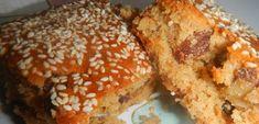Συνταγή για την πιο νόστιμη νηστίσιμη σταφιδόπιτα! | ediva.gr Vegan Vegetarian, Vegetarian Recipes, Greek Recipes, Dessert Bars, Creative Food, Bagel, Banana Bread, Cake Recipes, Muffin