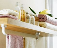 storage hacks for tiny bathrooms