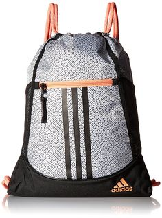 53fe9bccc Details about adidas Alliance Sack Pack Drawstring Gym Bags Unisex Backpacks  Sports Sackpacks