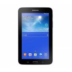 """Tournant sous Android 4.2 Jelly Bean, la Galaxy Tab 3 Lite de Samsung est une tablette multimédia aussi élégante que performante.Boostée par un processeur Dual Core 1,2 Ghz, elle arbore un magnifique écran tactile Capacitif de 7"""", au toucher extrêmement sensible. Conçue essentiellement pour la navigation sur le Web et le divertissement, la Samsung Galaxy Tab 3 Lite donne accès à une multitude de contenus et d'applications (Samsung Hub, ChatON, Samsung Apps).Equipée du WiFi-N et du Bluetooth…"""