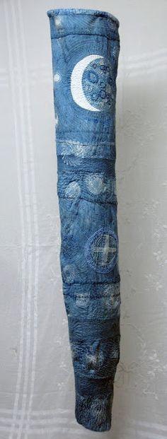 Judith e Martin New work: moon cloth _  female figurine