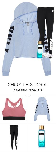 """Untitled #3638"" by laurenatria11 ❤ liked on Polyvore featuring Victoria's Secret, NIKE and Converse"
