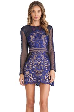 The must-have flirty lace dress for Fall
