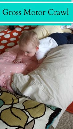 Gross Motor Crawl For Baby - Pink Oatmeal