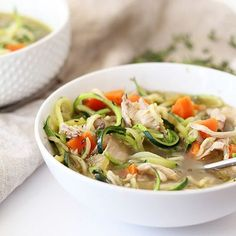 Heartier ingredients like beans, whole grains, and lean meats make soup a more substantial meal. Give it a try with these satisfying, filling recipes.